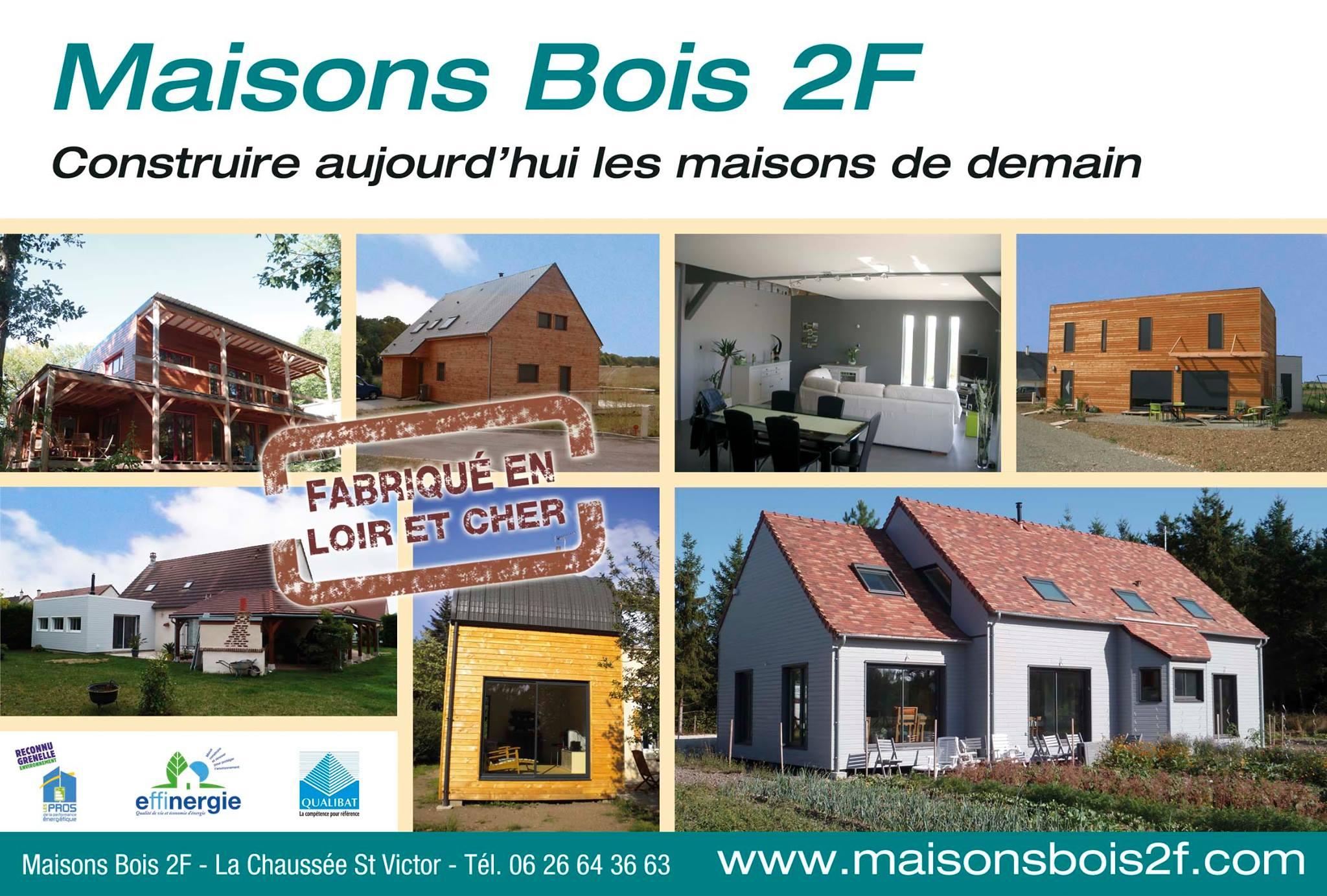 Constructeur Maison En Bois Loir Et Cher maisons bois 2f - constructeur de maisons - blois